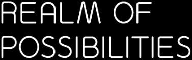 Realm of Possibilities - Ellis Jones